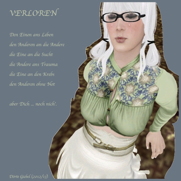 VERLOREN-POEM